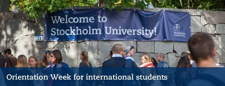 Next Orientation Week for international students starts on Wednesday the 29th of August.